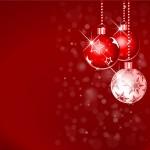 Christbaumkugeln Weihnachten Hintergrund